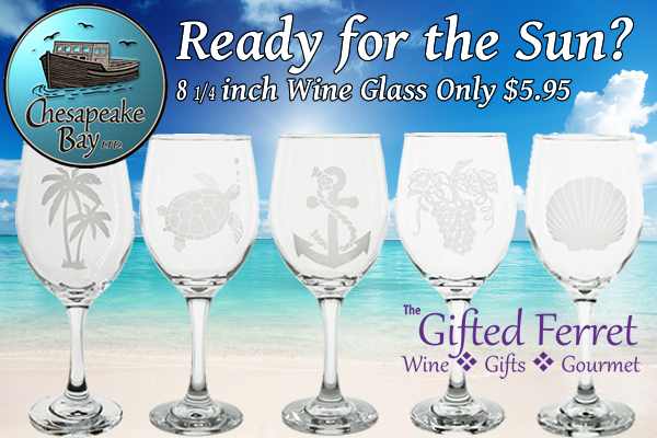 The Gifted Ferret Summer Wine Glasses